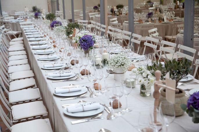tavola matrimonio imperiale
