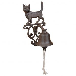 Campana Con Decorazione Gatto