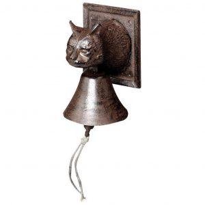 Campana Con Testa Gatto
