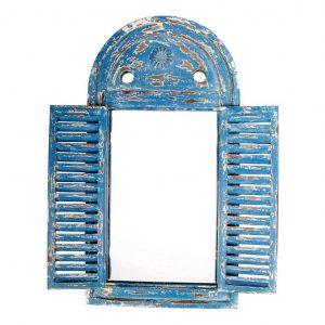 Cornice Azzurra A Specchio
