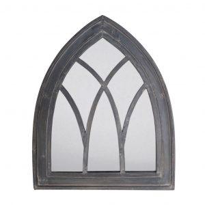 Cornice Gotica Grigia A Specchio