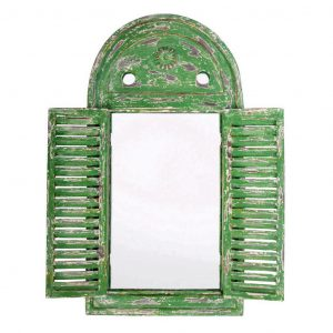 Cornice Verde A Specchio