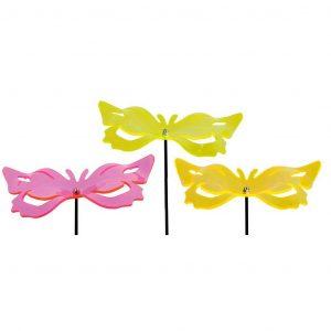 Decoro Da Giardino Farfalla 3D Fluores
