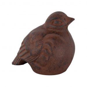 Decoro Uccello Grande In Ghisa
