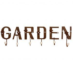 Ganci Da Muro Scritta Garden