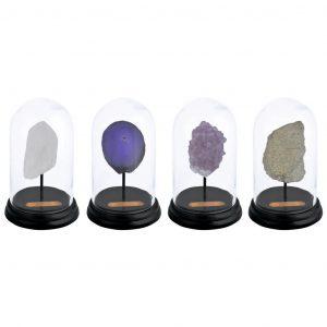 Minerale In Campana Di Vetro Ass