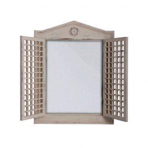 Specchio Con Cornice Tipo Finestra