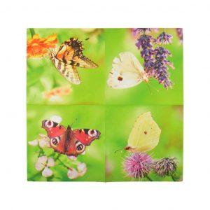 Tovaglioli Fantasia Farfalle