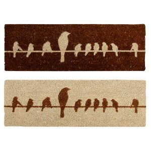 Zerbino In Cocco Uccellini Su Filo (Ass)
