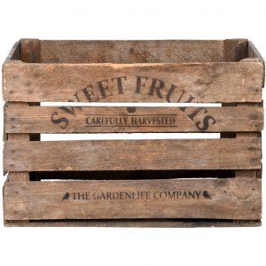 Cassetta per mele in legno