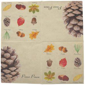 Fazzoletti di carta fantasia varietà alberi