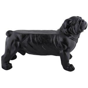 Panca a forma di bull dog