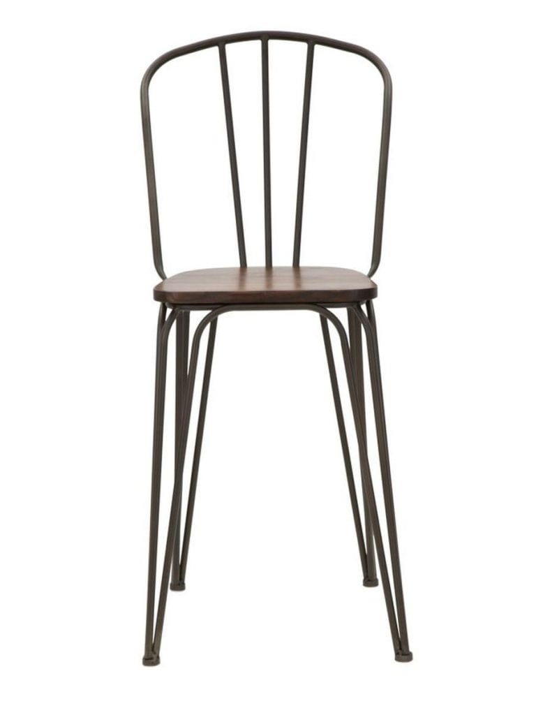 Sedia bar harlem set 2pz (altezza seduta cm 61) | NaturDecor
