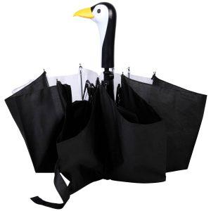 Ombrello Da Borsetta Pinguino