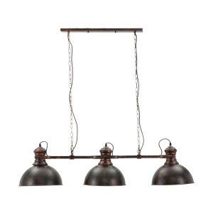 Lampadario 3 luci industry