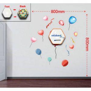 Sticker Da Muro Baloons Con Lavagnetta E Bersaglio