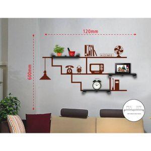Sticker Da Muro Home Con Mensole