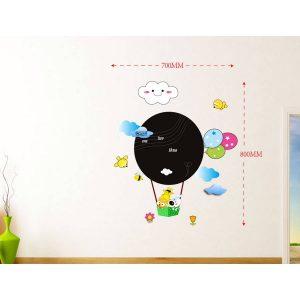 Sticker Da Muro Scrivibile Baloon