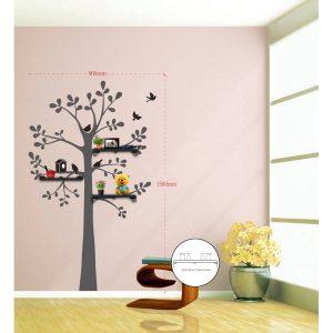 Sticker Da Muro Tree Con Mensole