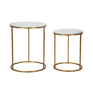 Tavolinetti Simply Marble Coppia