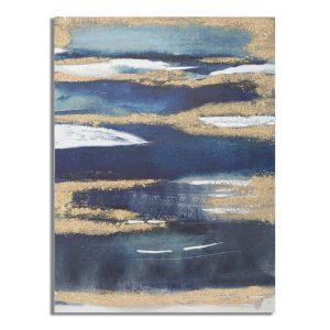 Dipinto Su Tela Dark Blue