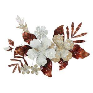Pannello In Ferro Bouquet