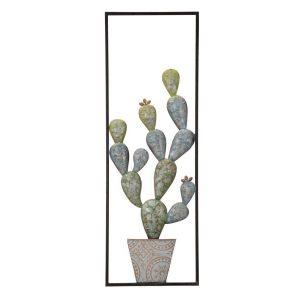 Pannello In Ferro Cactus Frame A