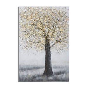 Dipinto Su Tela Tree Simple A