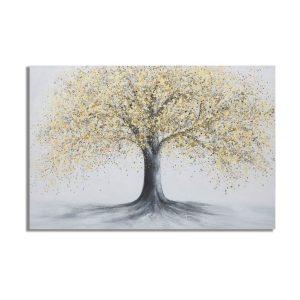 Dipinto Su Tela Tree Simple B
