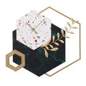 Orologio Da Muro Hexagon