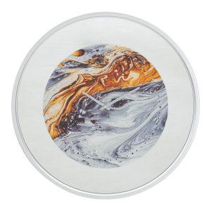 Orologio Da Muro Mirror Grey