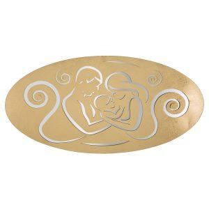 Pannello Nativity Gold A